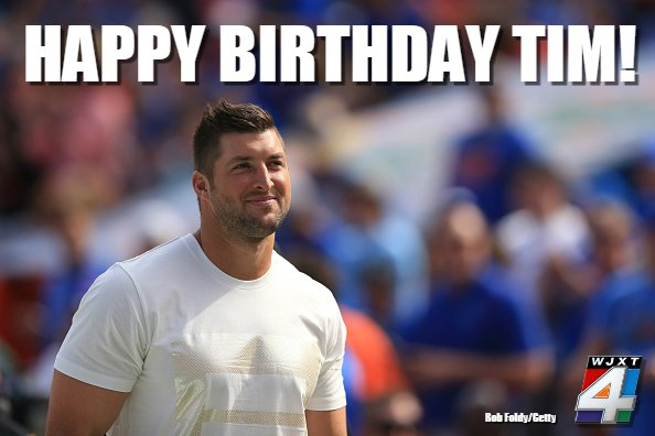 Happy birthday, Tim Tebow! The Gators great turns 30 today --