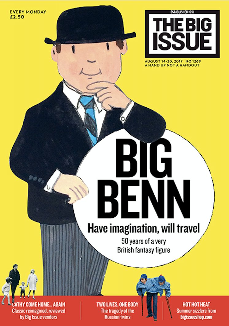 RT @PauldMcNamee: Big Ben going quiet. @bigissue has an alternative. On the streets today https://t.co/myeVZRCSrF