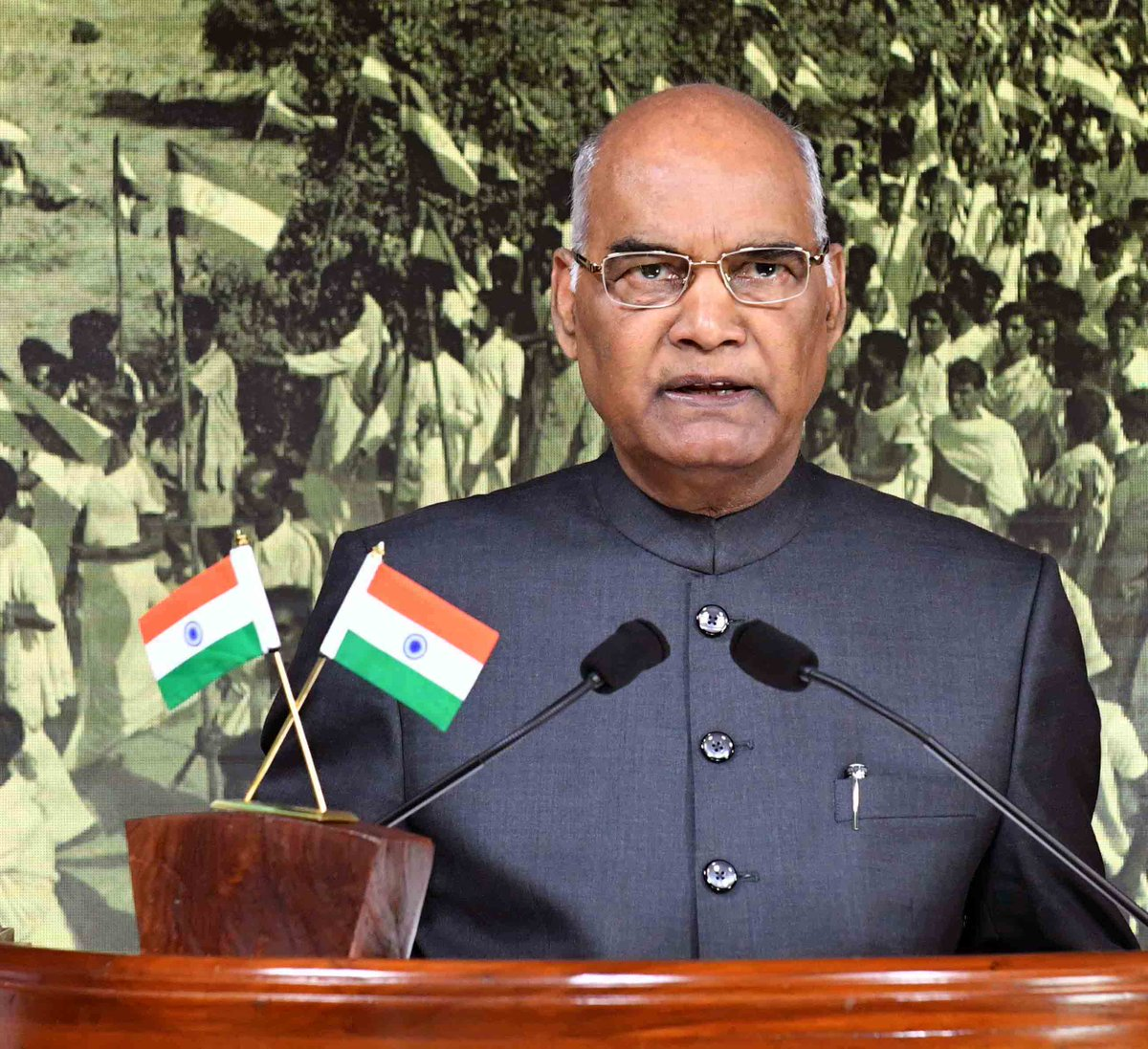 It is responsibility of each one of us to promote sense of pride in paying taxes: President #RamNathKovind (ANI)