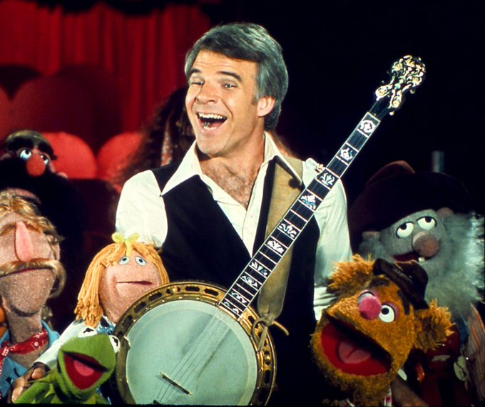 Happy Birthday to Steve Martin who turns 72 today!
