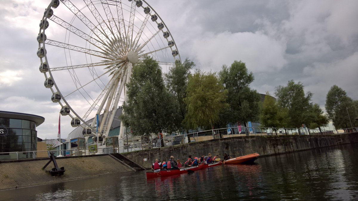 @lpoolwatersport today. Canoe expedition around the albert dock #Liverpool  #bynghouse #liverpoolwatersports #poppybreak #familyholiday<br>http://pic.twitter.com/d9RFgiquvE
