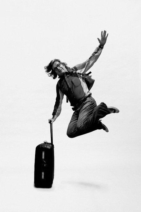 Before you say cut, wait 5 seconds. Happy birthday Wim Wenders Photo: Alex Majoli, 2006