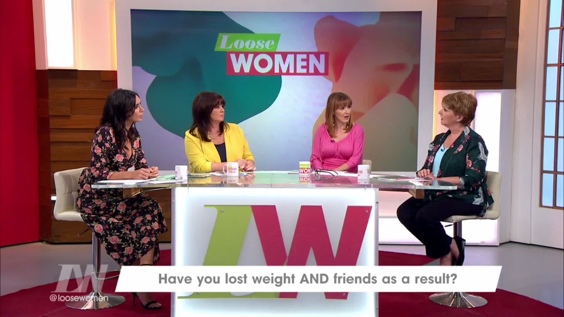 RT @loosewomen: .@NolanColeen was chuffed she was labelled a DUFF... until she found out what it meant... 😁 😁 😁 https://t.co/zeU009oSVB