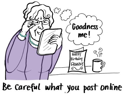 Remember: Be careful what you post online! #cyberbullying #onlinesafety #thinkbeforeyoupost #support #thinktwice #esafety<br>http://pic.twitter.com/ss5WFQDtKA