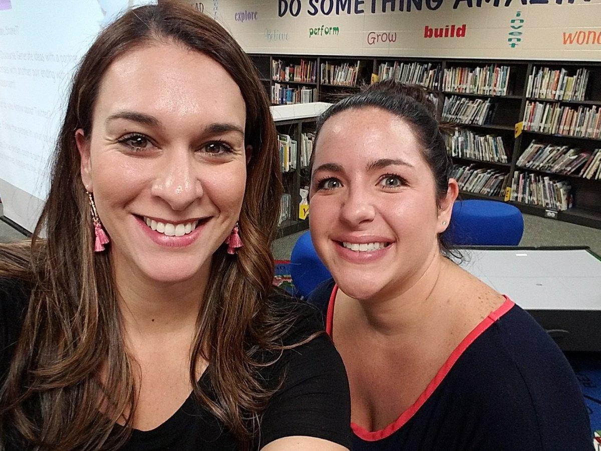 Leading staff development,  helping teachers incorporate tech @lindseylove85 #librarian&amp;readingspecialist #buildingpartnerships<br>http://pic.twitter.com/Iu88A73m8p