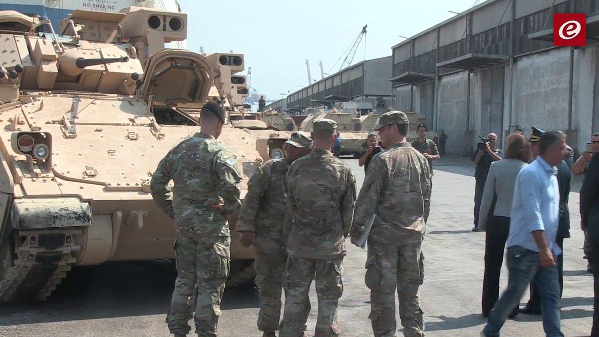 الجيش اللبناني يستلم ٥٠ مدرعة برادلي DHMtyi9WsAAb2p3