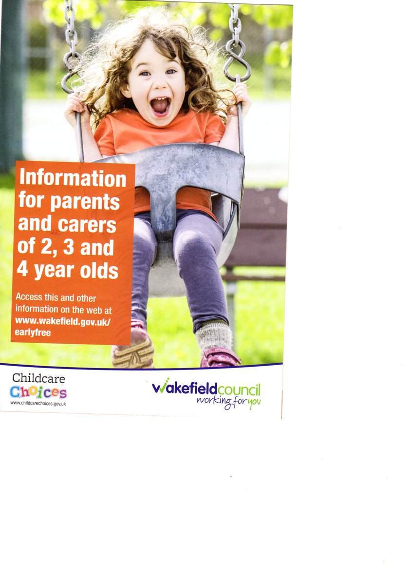 #Wakefield #Outwood #Ossett #lupset #Northgate #Westgate #Wakefield #city Centre  Childcare for Free 15 hours &amp; 30 hours<br>http://pic.twitter.com/QhE0m0jBWw