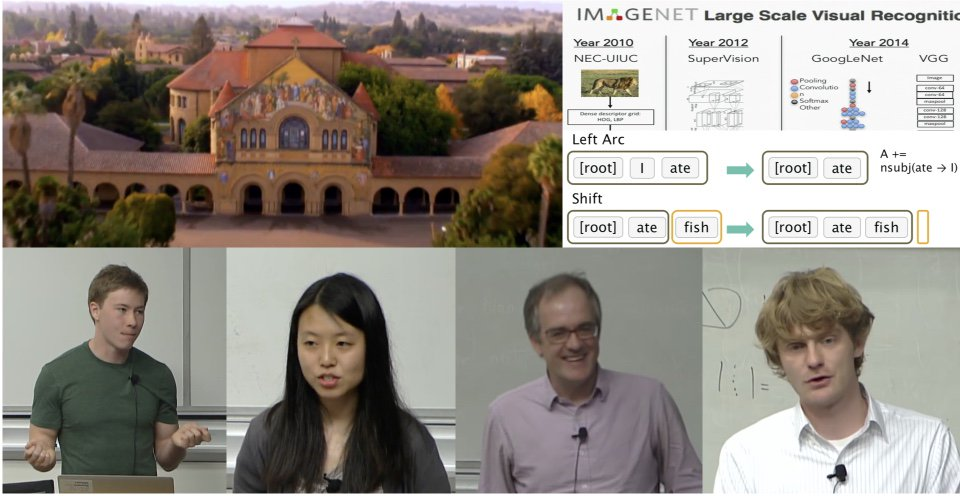 Free, up-to-date @Stanford deep learning lectures: #NLProc https://t.co/yE6ufYHCyw & Vision https://t.co/fcI0LjUSFK https://t.co/1c8SDdfp6s