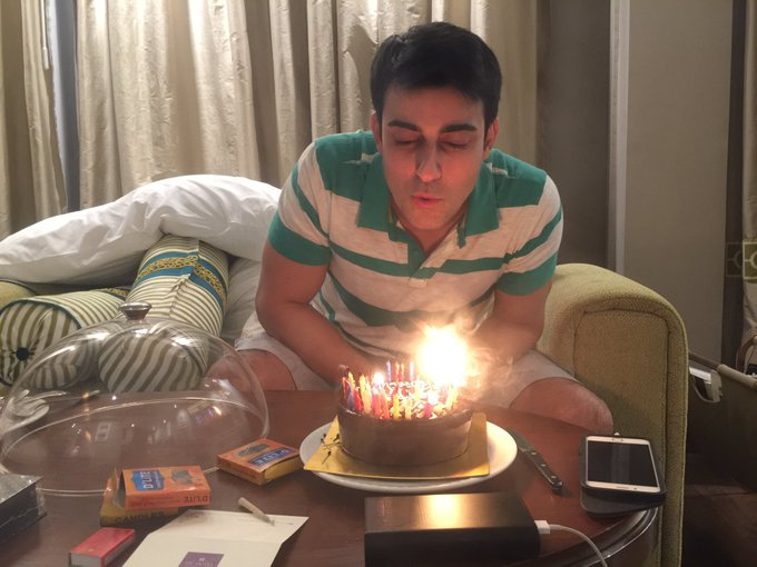 Hi Gautam Happy Birthday I love you so much you are my everything Congratulations! God bless you