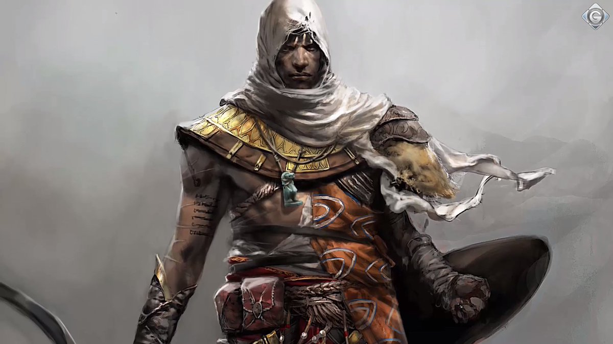Assassin S Creed Univers On Twitter Early Concept Arts Of Bayek For Assassinscreed Origins