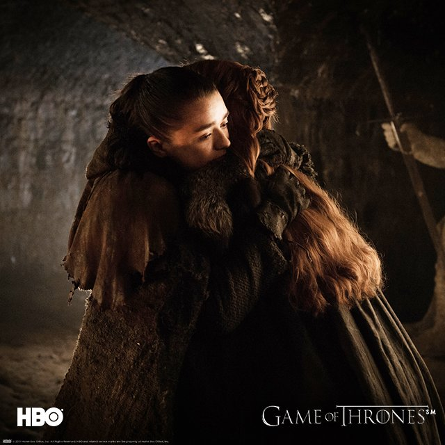 We don't like to see these two fighting. The Stark Sisters need to stick together! #Eastwatch #GoTS7 https://t.co/Ty8lOp0qn0