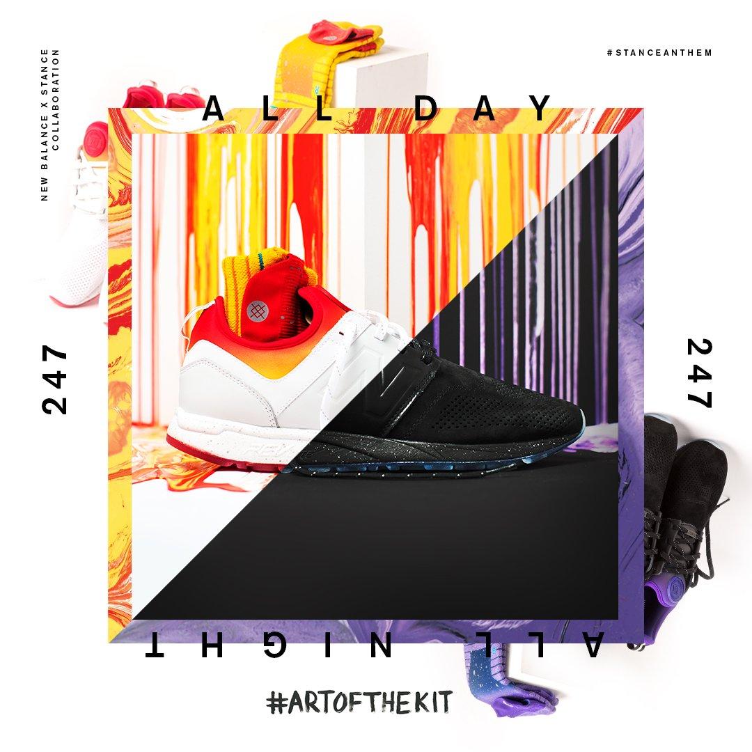 The @stance #TheArtofTheKit ALL DAY ALL NIGHT 247 launching 08/19. #lifein247
