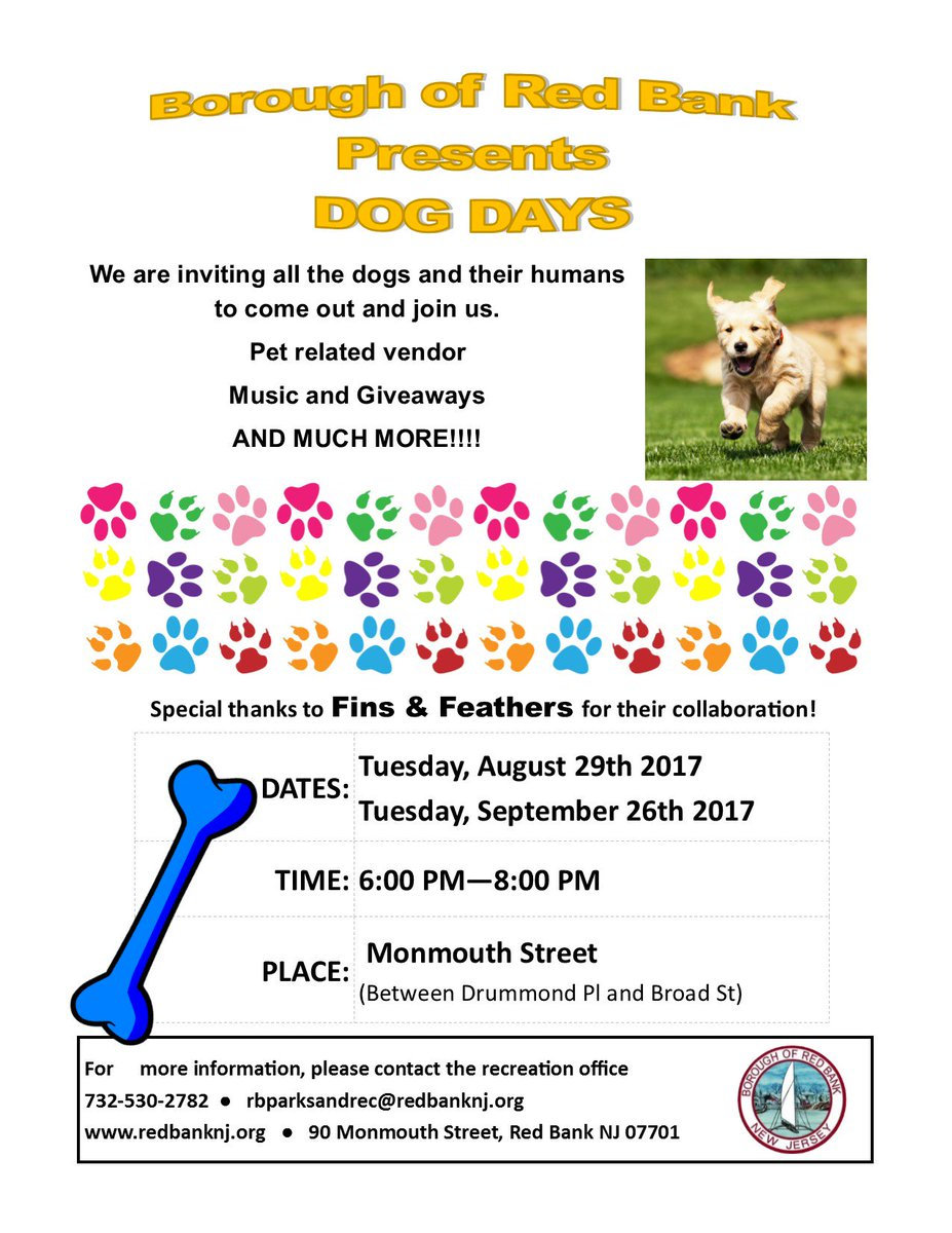 Dog Days are HERE..... Join the Mayor and the Department of Parks and Recreation on August 29th  #Music #Giveaways #Fun #Dogs<br>http://pic.twitter.com/veKhkJOUFD