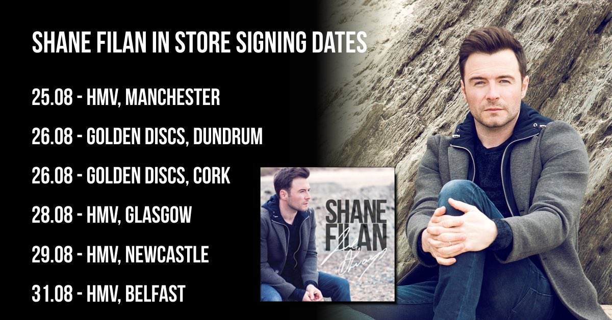 Shane Filan on Twitter: