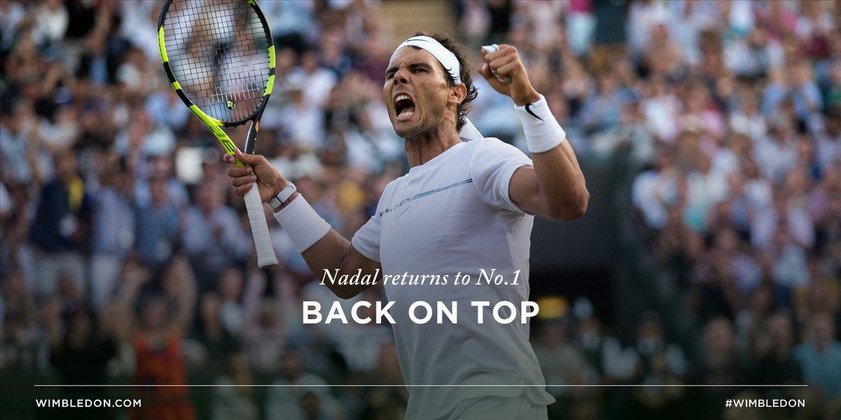 After a three year wait, @RafaelNadal will once again top the world ra...