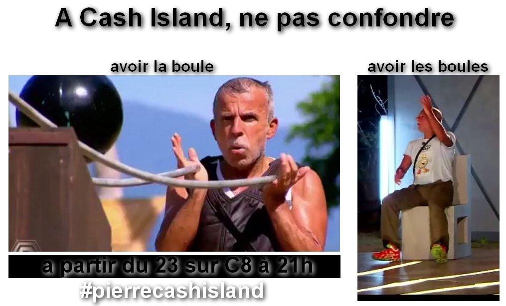 Aboule le fric ? #cashisland #pierrecashisland #C8 <br>http://pic.twitter.com/j2KuTDfwoR