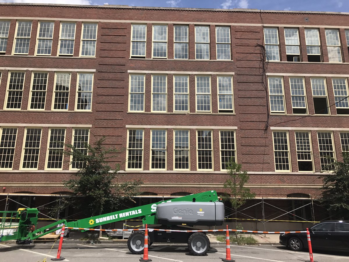 test Twitter Media - We're getting ready for the new school year including putting in all new windows along Union Park Street! https://t.co/6CMk9b38BA