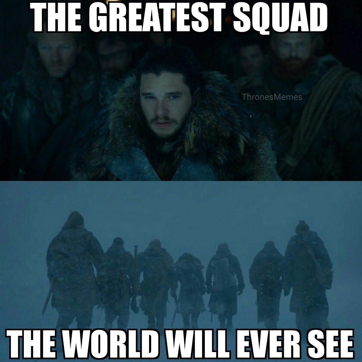 Squad goals meme