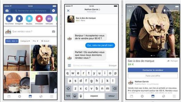 Facebook lance un concurrent de Leboncoin en France. https://t.co/M67dLkOff1