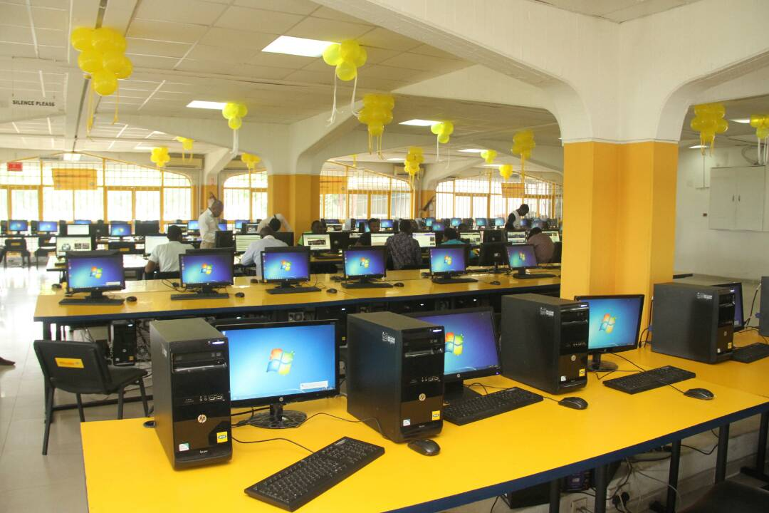 The university&#39;s library was refurbished and revamped to aid better and quality education. #MTNFoundation #TogetherForGood <br>http://pic.twitter.com/sENEPHldhz