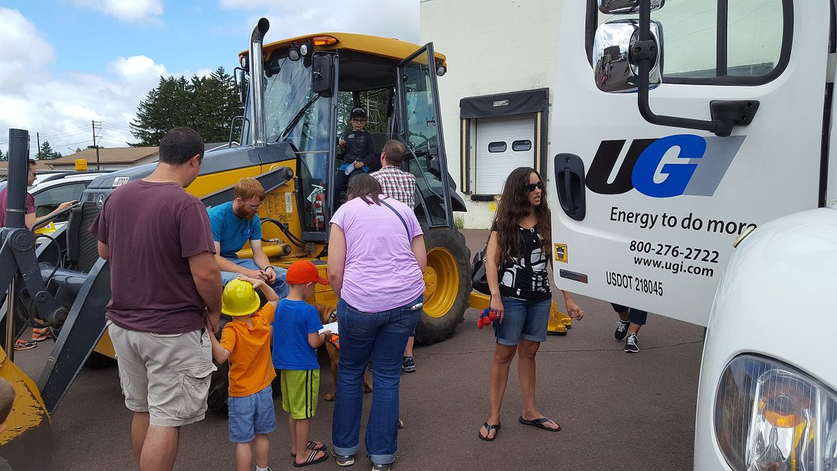 test Twitter Media - Kids get up close and behind the wheel of some of UGI's trucks during a recent Touch A Truck community event in Bloomsburg. https://t.co/ddA5ECkRXM