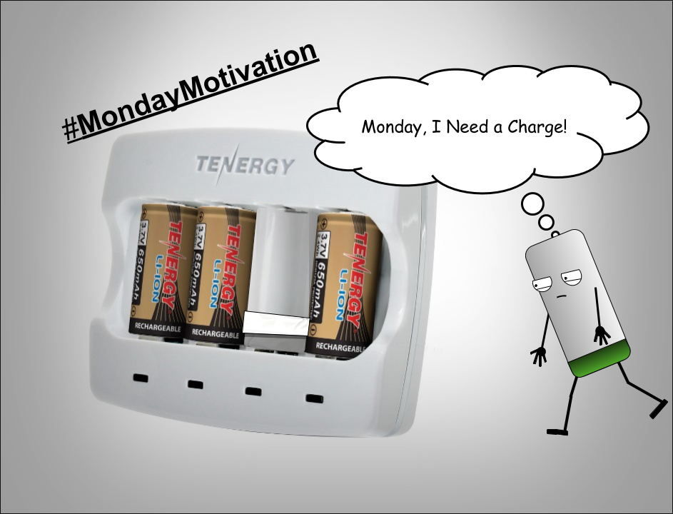#MondayMotivation I need a charge for the week. https://t.co/Z8cKJ9TlxB