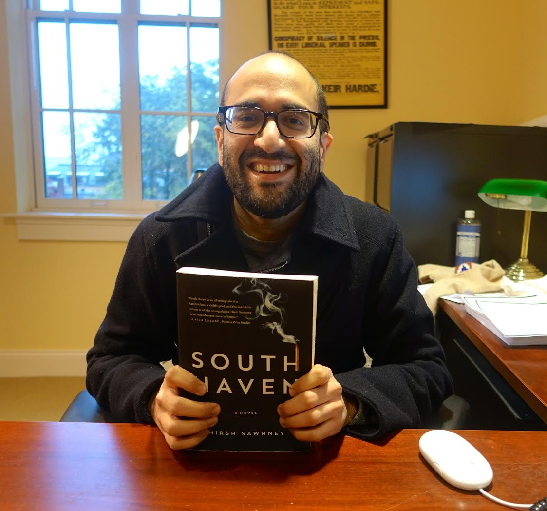 test Twitter Media - English Prof Hirsh Sawhney's debut novel, South Haven, nominated for @thedscprize for South Asian literature: https://t.co/DbmnrtdkZB https://t.co/LJbp2ljgg9