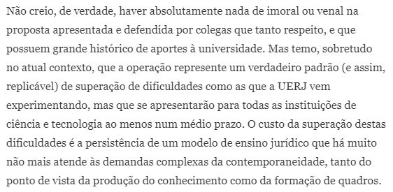 O Direito é da UERJ (e deve ficar na UERJ): sobre a mudança da Universidade p/ prédio do TJ. Por Fernando Fontainha: https://t.co/OySRh1LnlT
