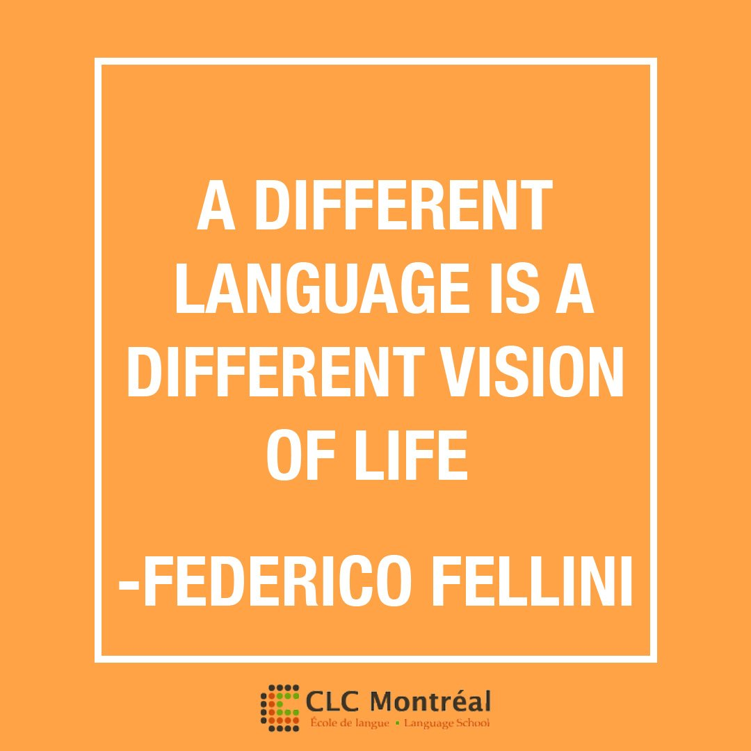 #MotivationMonday Find a different vision in life by learning a new language! #language #polyglot #multilingual <br>http://pic.twitter.com/T6rsjlpy3J