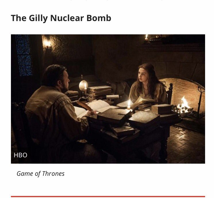 Perfect way to put it  #theGillyNuclearBomb #legitimacy #GoTS7e5<br>http://pic.twitter.com/4ZwIvKRRjI
