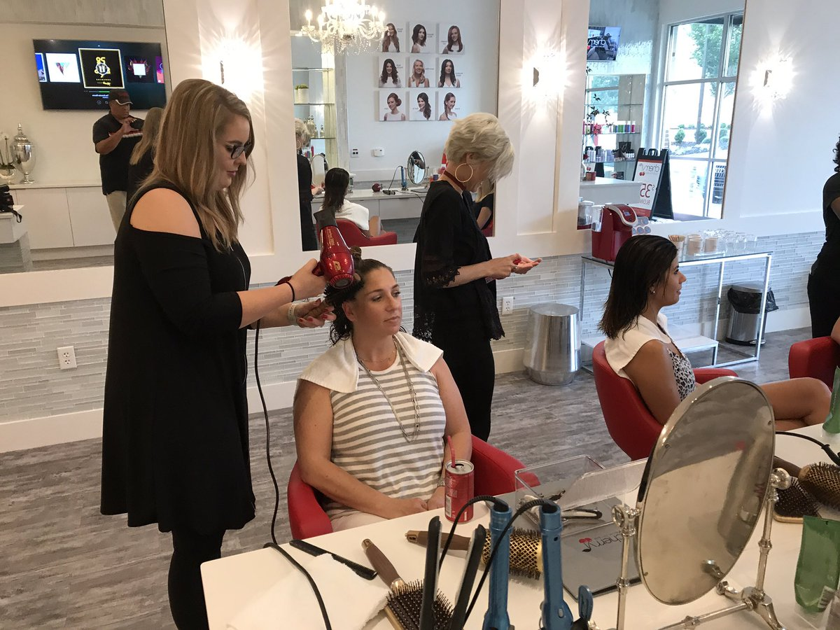 Tim Reid On Twitter The Cherry Blow Dry Bar Is Now Open In