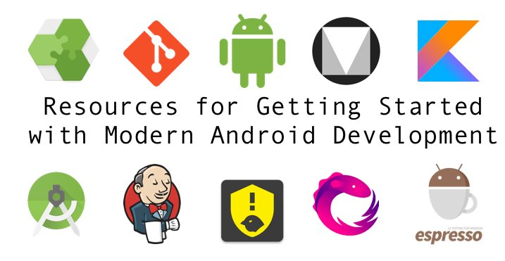 Resources for Getting Started with Modern Android Development #AndroidDev  https:// riggaroo.co.za/resources-gett ing-started-android-development/ &nbsp; … <br>http://pic.twitter.com/GJZM9v0yTv