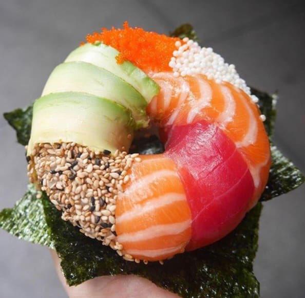 как делать суши на машинке видео