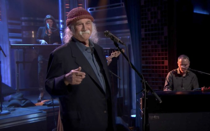 David Crosby Is Having a Good Time on His Birthday