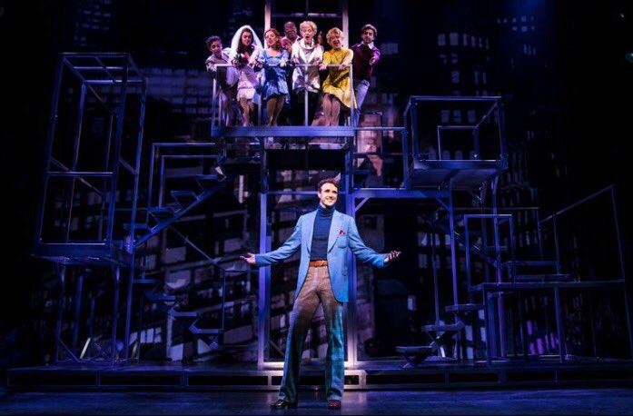 First  of @michaelxavierUK in #princeofbroadway from the #Company segment,ahead of opening night next week! Photo credit to @BroadwayWorld<br>http://pic.twitter.com/NgjKWeGMyA