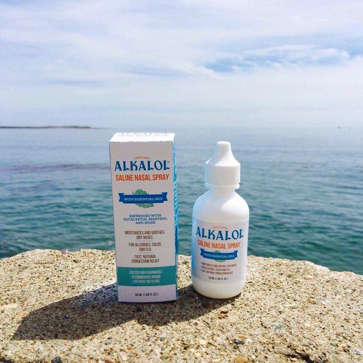 alkalol nasal wash how to use