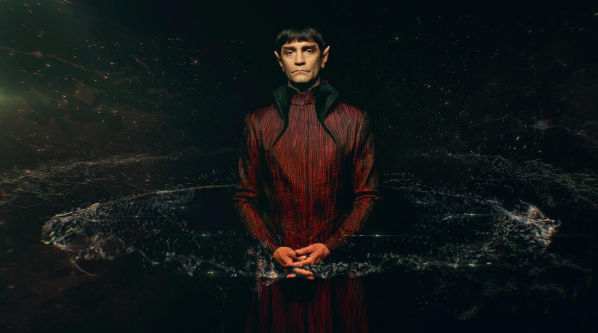 Sarek, Vulcan father of Spock. #StarTrekDiscovery begins streaming on...