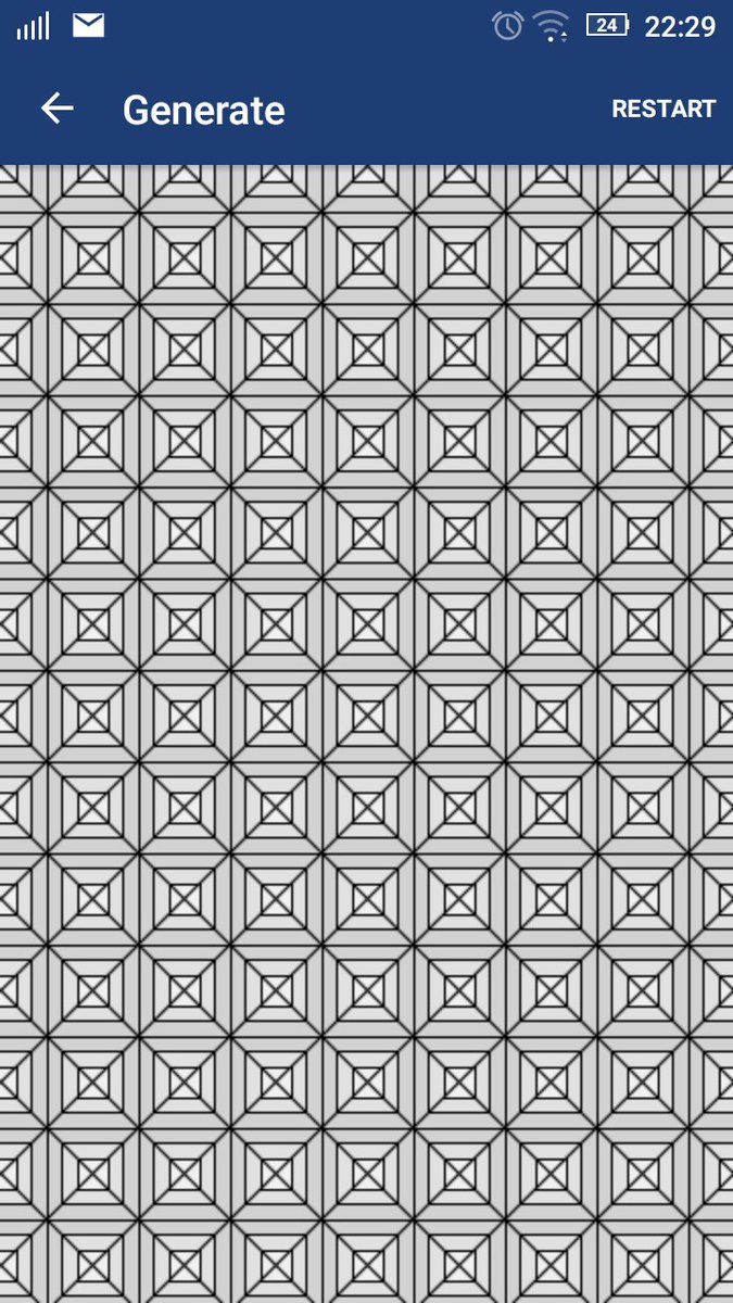Nice optical illusion! Decided to code it in #Generate: Processing app <br>http://pic.twitter.com/0wEYOyh9VF