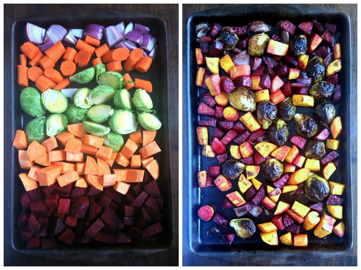 Gorgeous oven roasted #vegetables with #balsamicvinegar, brown sugar, &amp; #feta #side #recipe  http:// bit.ly/2ix6YwP  &nbsp;  <br>http://pic.twitter.com/RTseYxK1Z7