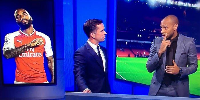 New: Video: Thierry Henry analyses Alexandre Lacazette's Premier League debut https://t.co/Mr9AlZ4UJT #arsenal #afc https://t.co/UEKvpamXjB