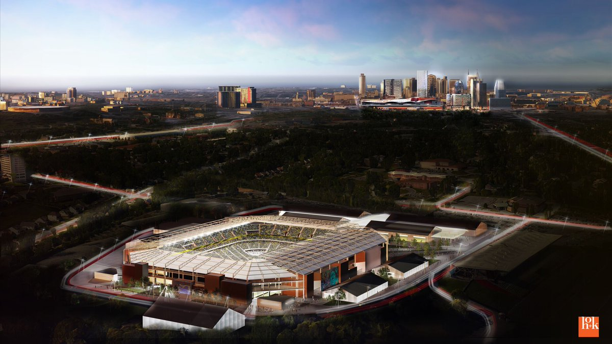 Here are the renderings of Nashville's proposed MLS stadium at the fairgrounds. 30K capacity. https://t.co/ojvAyyOcLC