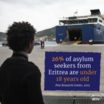 26% of asylum seekers from #Eritrea are under 18 years old https://t.co/cKOpgSiiPq