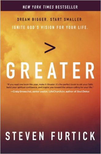&quot;But I&#39;ve chosen to live my life believing that I belong to One whose vantage point is greater than mine.&quot;  -@StevenFurtick  #Greater <br>http://pic.twitter.com/vNZbm3XuCX