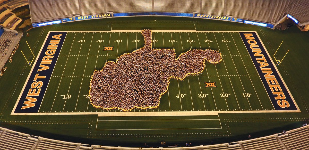 It's official! Welcome WVU Class of 2021.