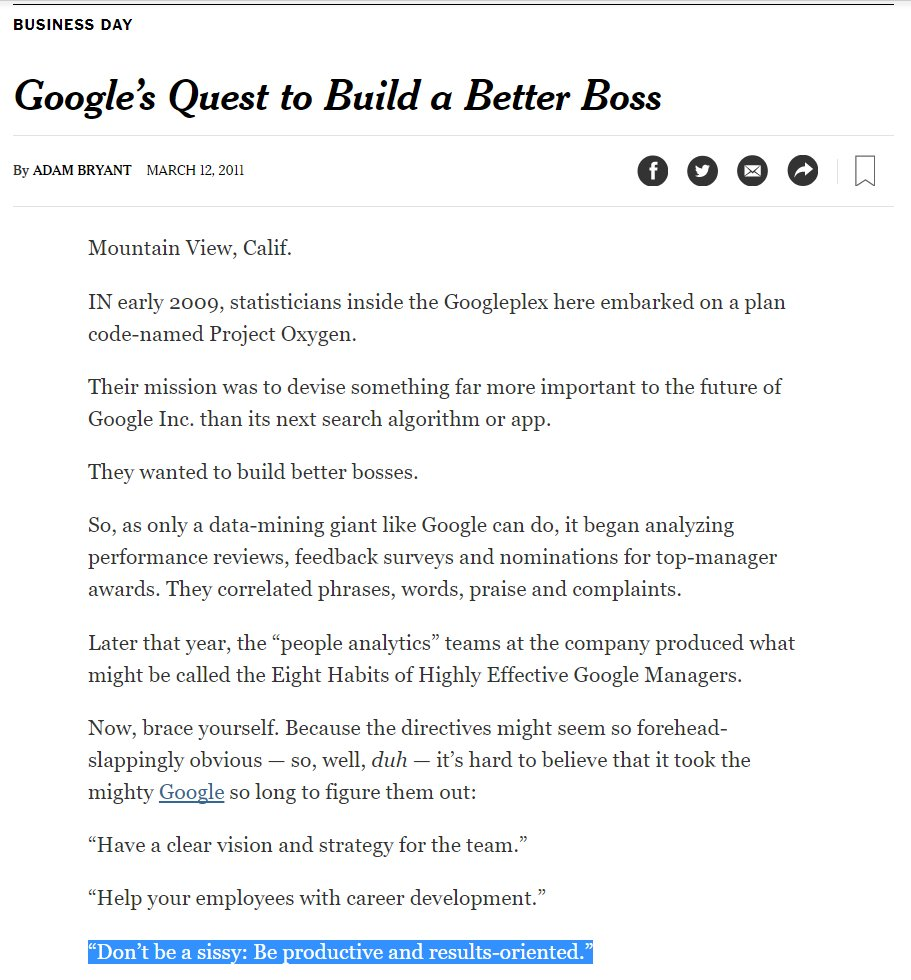 building a better boss essay This assignment essay will first describe the recent changes in building a better boss but also explain on how other companies can learn from google's experience question 1: describe the findings of project oxygen using the functions approach, mintzberg's roles approach, and the skills approach.