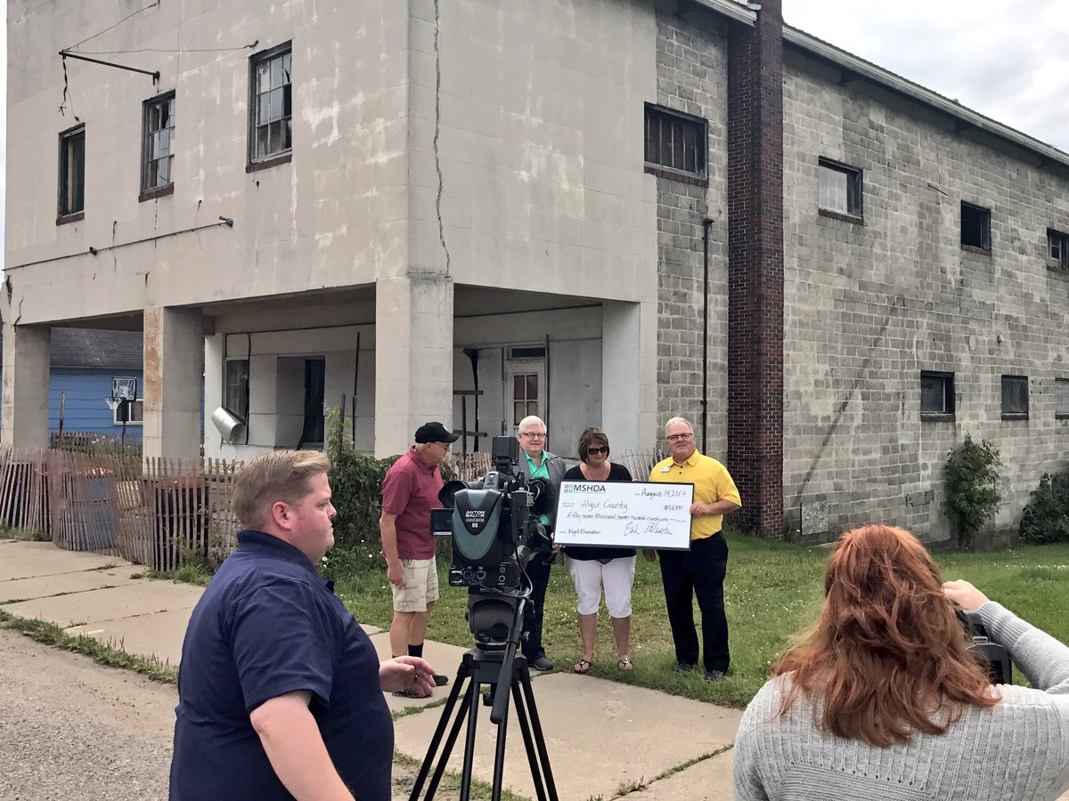Michigan alger county trenary - Last Stop Today Awarding Alger County A 57k Blight Elimination Grant For The Condemned Former Longbranch Saloon In Trenary