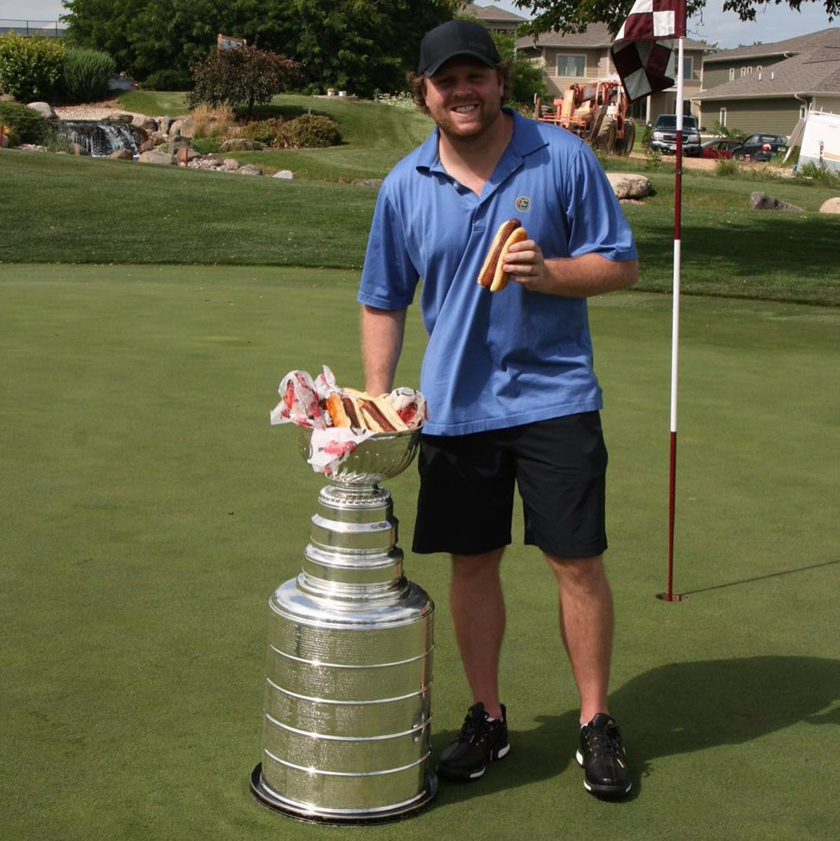 It's August 14th and two-time Stanley Cup Champion Phil Kessel is eati...