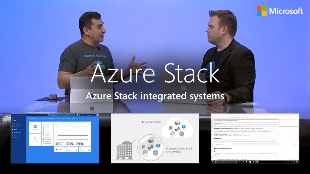 Watch the demo on #AzureStack integrated systems - How to bring #Azure to your #datacenter. Demo:  http:// msft.social/MfC5Uo  &nbsp;  <br>http://pic.twitter.com/W4Q2i5fc5m