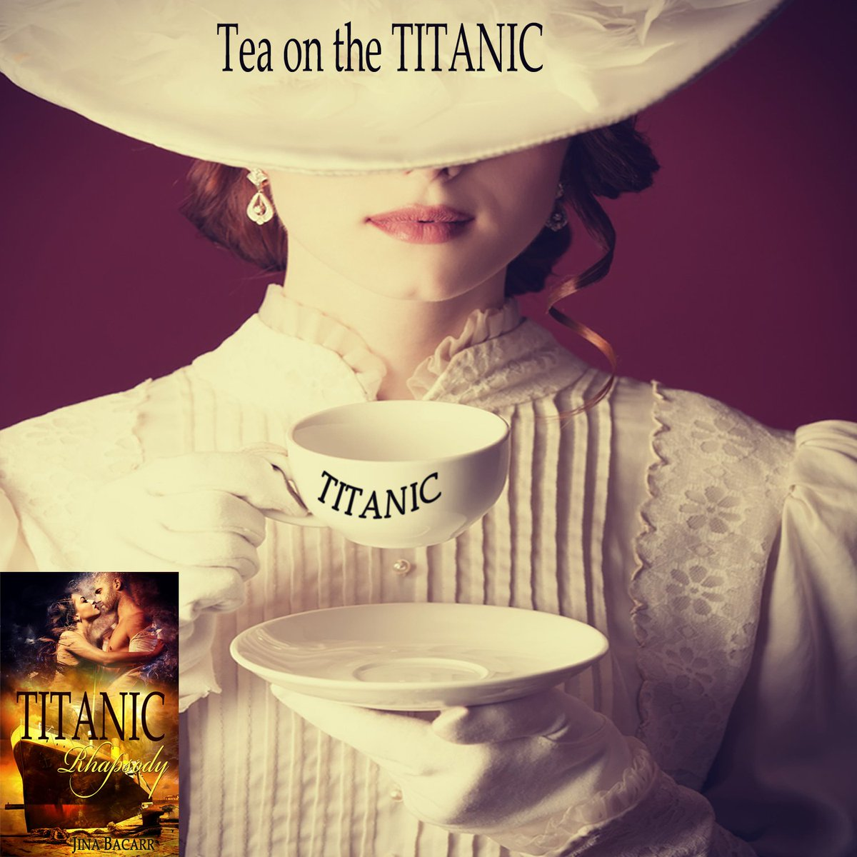 Aboard Titanic sexy gambler in love w/ two women . . . who will survive? #Titanic Rhapsody  http:// a.co/1wSE0rb  &nbsp;   #IARTG #AfternoonTeaWeek <br>http://pic.twitter.com/KJuLESzMiZ