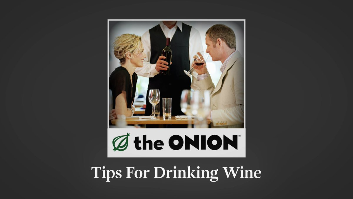 Tips For Drinking Wine